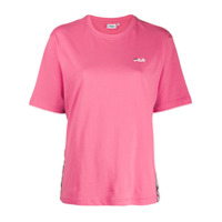 Fila Logo Band T-Shirt - Rosa