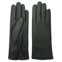 Filippa-K Touch Ruched Gloves - Verde
