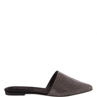 Flat Mule Diamond Black | Schutz