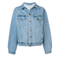Forte Dei Marmi Couture 'super Mama' Denim Jacket - Azul