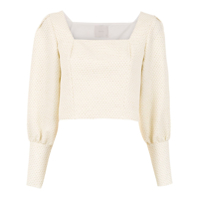 Framed Blusa Cropped 'candy Crush' - Branco