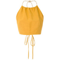 Framed Top Cropped Nassau - Amarelo