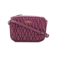 Furla Mini Camera Cometa Crossbody Bag - Vermelho