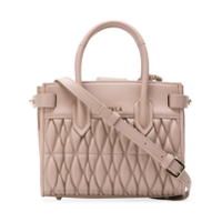 Furla Pin Cometa Quilted Bag - Neutro