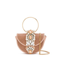Gedebe Mini Brigitte Crystal Crossbody - Rosa