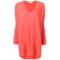 Gentry Portofino Cash Oversized Sweater - Laranja