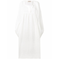 Gentry Portofino Simple Kaftan - Branco