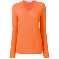 Gentry Portofino V-Neck Sweater - Laranja