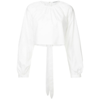 Georgia Alice Camisa Cropped - Branco