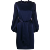 Gianluca Capannolo Belted Dress - Azul