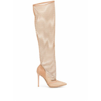 Gianvito Rossi Bota Over The Knee - Marrom