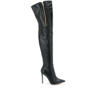Gianvito Rossi Bota Over The Knee - Preto