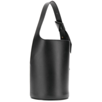 Giaquinto Layered Stitched Bucket Bag - Preto