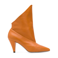 Givenchy Ankle Boot De Couro - Marrom