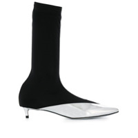 Givenchy Ankle Boot Slip On - Prateado