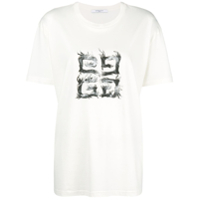 Givenchy Camiseta Com Patch - Branco