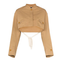 Givenchy Jaqueta Cropped - Neutro