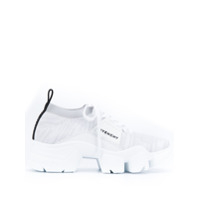 Givenchy Jaw Knitted Sneakers - Branco