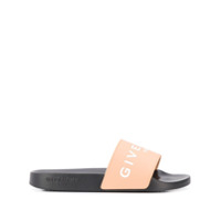 Givenchy Slide Com Logo - Neutro