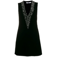 Givenchy Pearl Embellished Short Dress - Preto