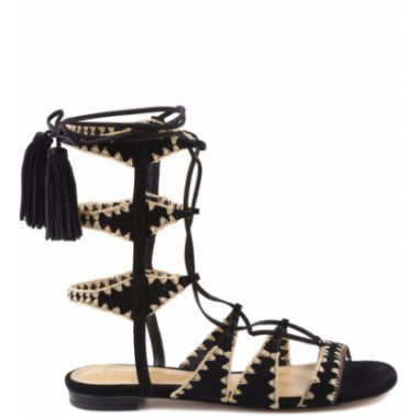 Gladiadora Willow Embroidery Black | Schutz