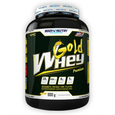 Gold Pure Whey - 900G - Body Nutry -Unissex