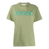 Golden Goose Camiseta Decote Careca Com Estampa De Logo - Verde