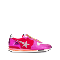 Golden Goose Tênis Running Sole Star - Rosa