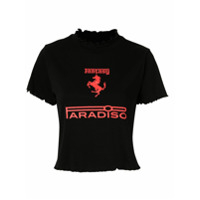 Ground Zero Fantasy Paradiso Print T-Shirt - Preto