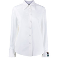 Gucci Logo Patch Tailored Shirt - Branco