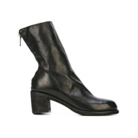 Guidi Zip-Up Ankle Boots - Preto