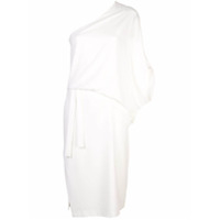 Halston Heritage Fitted Cocktail Dress - Branco