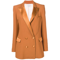 Hebe Studio Classic Double-Breasted Blazer - Laranja