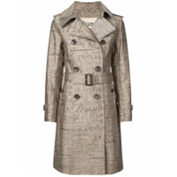 Herno 70Th Limited Edition Trench Coat - Marrom