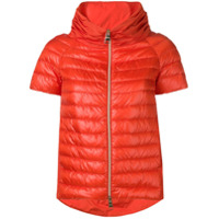 Herno Short Sleeve Padded Jacket - Laranja