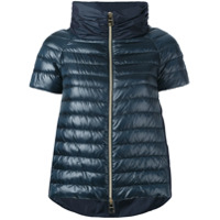 Herno Short-Sleeve Puffer Jacket - Azul