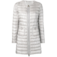 Herno Zipped Padded Jacket - Cinza