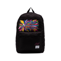 Herschel Supply Co. Black Snoopy Print Daypack Backpack - Preto