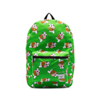 Herschel Supply Co. Lime Green Snoopy Print Dual Compartment Backpack - Verde