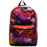 Herschel Supply Co. Mochila Snoopy Com Estampa De Galáxia - Roxo