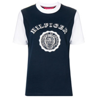 Hilfiger Collection Camiseta Com Logo - Azul