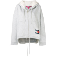 Hilfiger Collection Moletom Com Zíper - Cinza