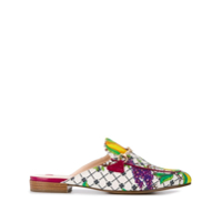 Hogl Mule Fruit Estampado - Branco