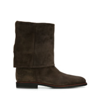 Holland & Holland Ankle Boot Turnover - Marrom