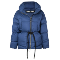 Ienki Ienki Single Breasted Puffer Jacket - Azul