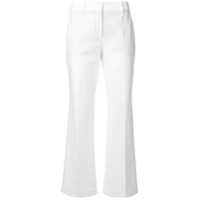 Incotex Flared Cropped Jeans - Branco