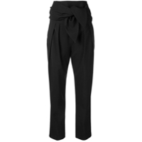 Iro Cellebrate Paper Bag Trousers - Preto