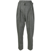 Iro High-Waisted Trousers - Cinza