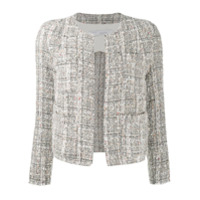 Iro Slim-Fit Tweed Jacket - Cinza