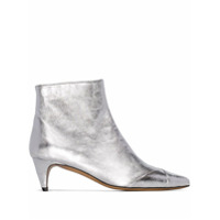 Isabel Marant Ankle Boot Durfee 60 - Metálico